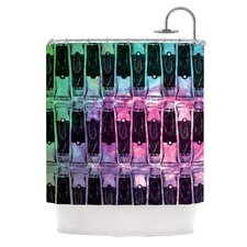 Paint Tubes II Shower Curtain