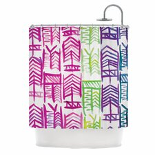 Quiver III Shower Curtain