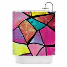 Stain Glass 3 Shower Curtain
