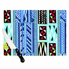 American Blanket Pattern Cutting Board