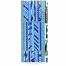 American Blanket Pattern by Vikki Salmela Graphic Art Plaque