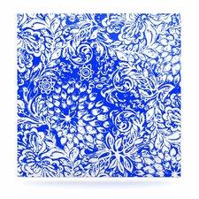 Bloom Blue for You by Vikki Salmela Graphic Art Plaque