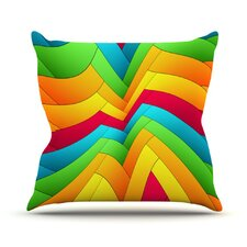 Olympia by Danny Ivan Throw Pillow