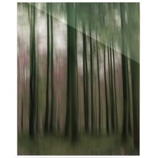 Forest Blur by Alison Coxon Graphic Art Plaque