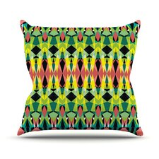 Triangle Visions Throw Pillow