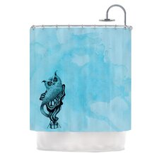 Owl III Shower Curtain