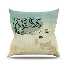 Kess Me by iRuz33 Throw Pillow