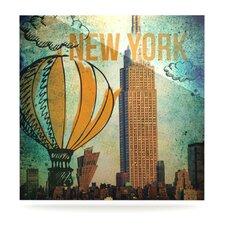 New York by iRuz33 Graphic Art Plaque