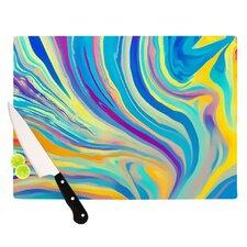Rainbow Swirl Cutting Board