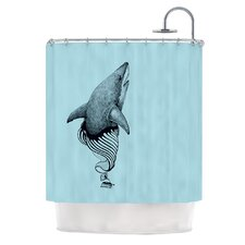 Shark Record II Shower Curtain