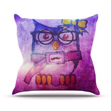 Showly by iRuz33 Throw Pillow