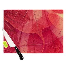 Delicate Leaves Cutting Board