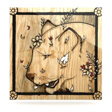 Panther by Jennie Penny Graphic Art Plaque