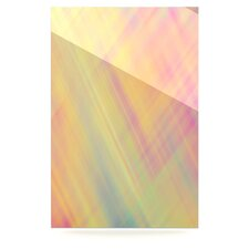 Pastel Abstract by Ingrid Beddoes Graphic Art Plaque