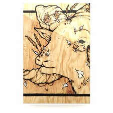 Ram by Jennie Penny Graphic Art Plaque