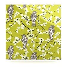 Blossom Bird by Julie Hamilton Graphic Art Plaque