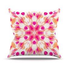 Batik Mandala by Iris Lehnhardt Throw Pillow