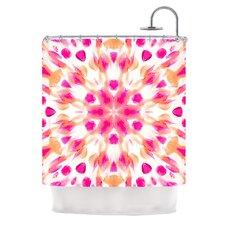 Batik Mandala Shower Curtain