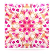 Batik Mandala by Iris Lehnhardt Graphic Art Plaque