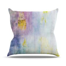 Color Grunge Outdoor Throw Pillow