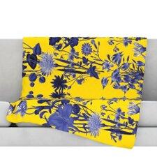 Bloom Flower Throw Blanket