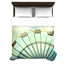 """""""Every Summer Has a Story"""" Woven Comforter Duvet Cover"""