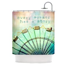 Every Summer Has a Story Shower Curtain