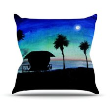 Carlsbad State Beach by Theresa Giolzetti Throw Pillow