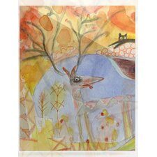 Promise of Magic by Marianna Tankelevich Graphic Art Plaque