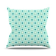 Tossing Pennies I Throw Pillow
