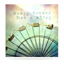 Every Summer Has a Story by Sylvia Cook Photographic Print Plaque