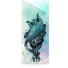 Owl II by Graham Curran Graphic Art Plaque