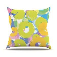 Circle Me by Emine Ortega Throw Pillow