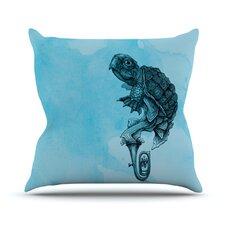 Turtle Tuba III by Graham Curran  Throw Pillow