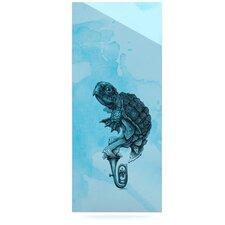 Turtle Tuba III by Graham Curran Graphic Art Plaque