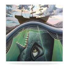 Jonah by Graham Curran Graphic Art Plaque