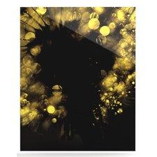 Moonlight Dandelion by Ingrid Beddoes Graphic Art Plaque