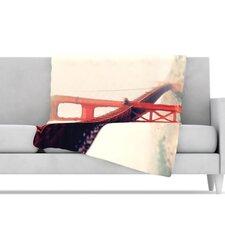 Golden Gate Throw Blanket