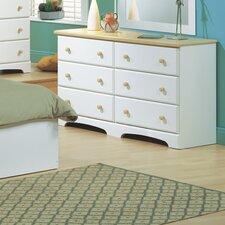 Newbury 6 Drawer Double Dresser