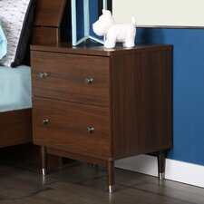 Olly 2 Drawer Nightstand