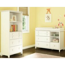 Little Smileys Changing Table and Shelving Unit