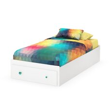 Little Monsters Twin Mate's Bed with Storage