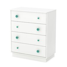 Little Monsters 4 Drawer Chest