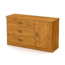 Libra 3 Drawer Dresser