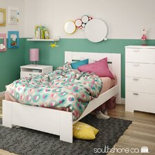 Reevo Twin Panel Customizable Bedroom Set