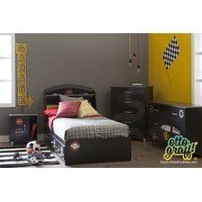 Luka Twin Storage Mate's ustomizable Bedroom Set