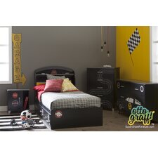 Luka Twin Platform Customizable Bedroom Set