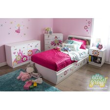 Joy Twin Platform Customizable Bedroom Set