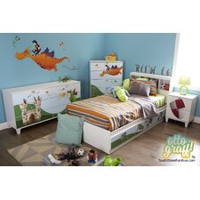 Andy Twin Platform Customizable Bedroom Set