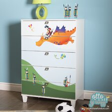 Andy 5 Drawer Chest